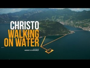 Christo - Walking on Water Film Event