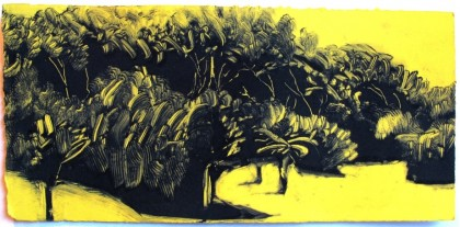 Clive Humphreys Monoprint